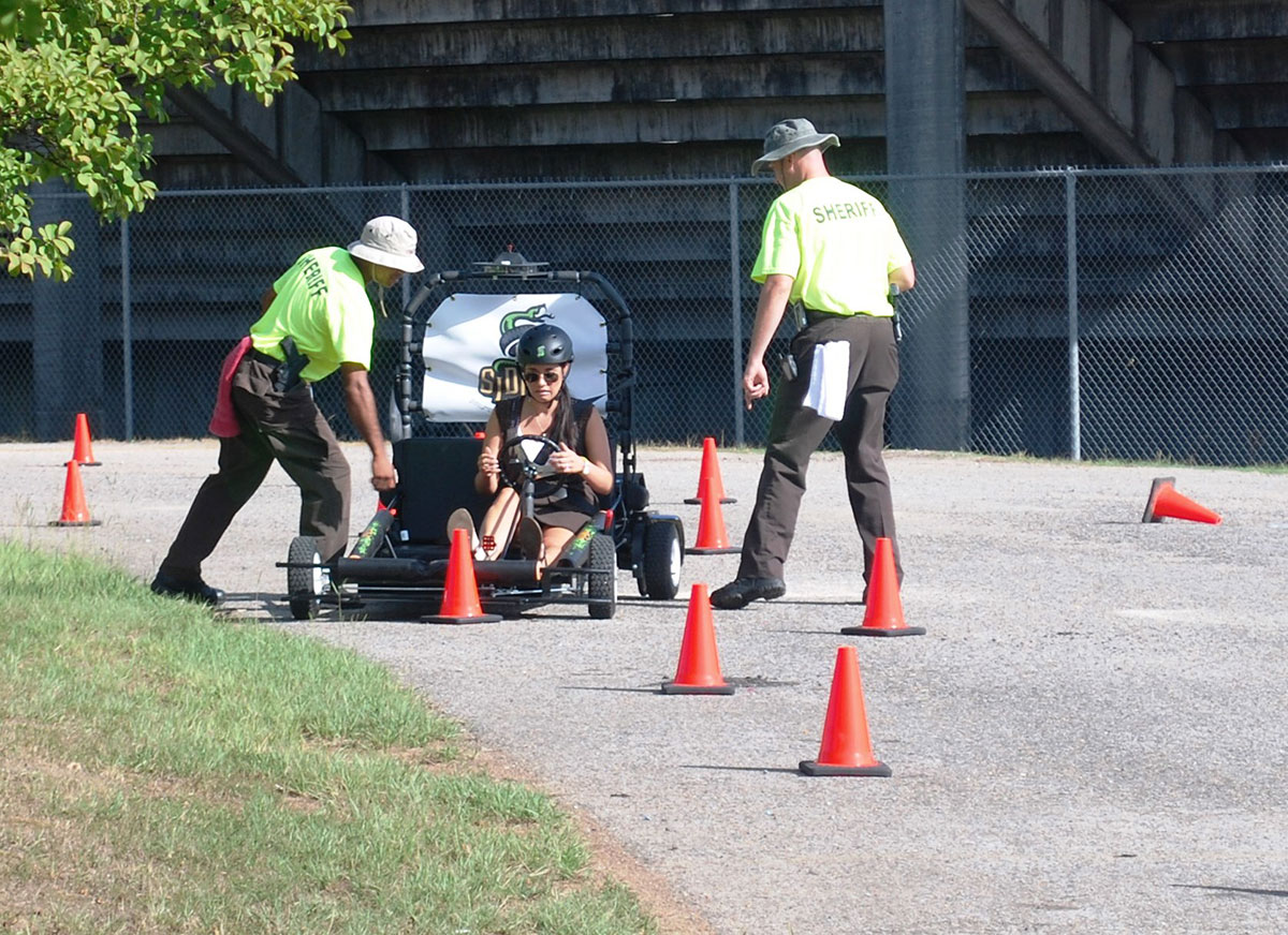 Sheriff's Distracted Driving Program at Minor High School