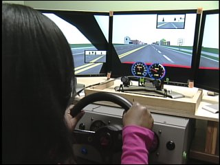 "UAB researchers study ""texting while driving"" with simulator"