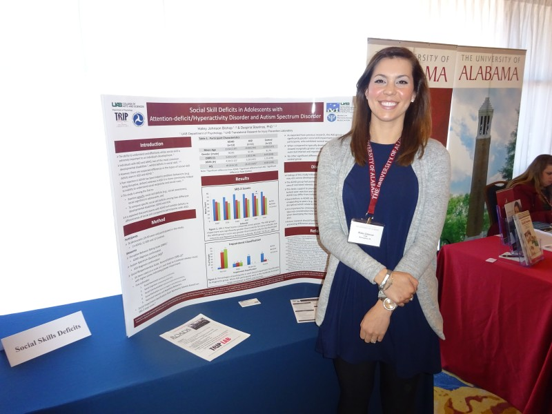 Haley Bishop at the ADHD Conference, 2016