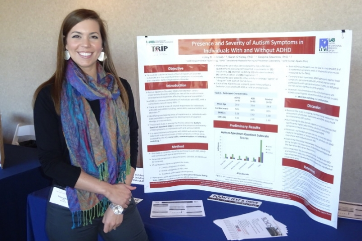 Haley Bishop at the ADHD Conference, 2015