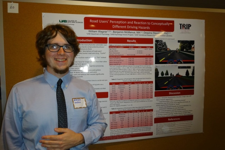 Will Wagner at the Ost Undergraduate Research Competition, 2016