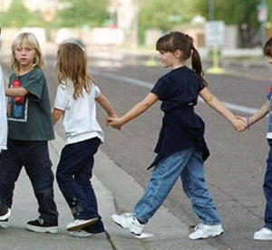 Kids with ADHD have trouble crossing streets