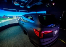 Driving Simulator Draws Media Attention