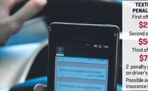 Texting while driving ban starts Wednesday in Alabama